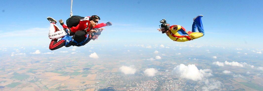 Fallschirmspringen / Skydiving